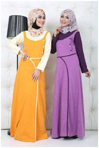 Image result for baju muslim bahan kaos