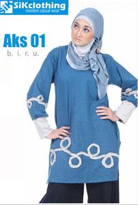 Sik Clothing AKS biru 01