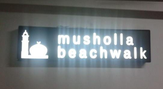 Mushola Beachwalk Bali