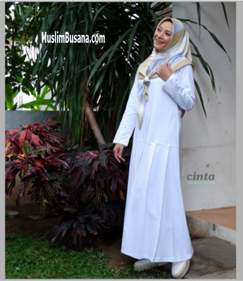Cinta Putih - SIK Clothing Gamis Gamis Dewasa
