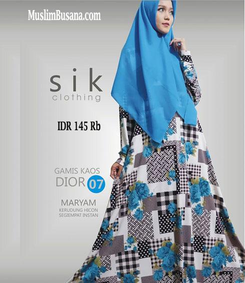 Sik Dior 07 - SIK Clothing Gamis Gamis Dewasa