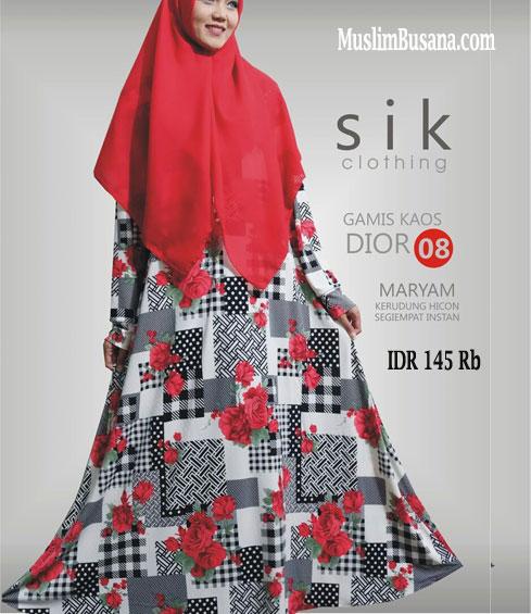 Sik Dior 08 - SIK Clothing Gamis Gamis Dewasa