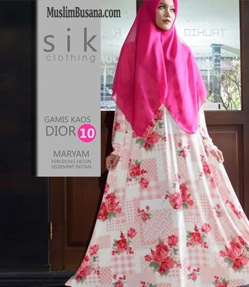 Sik Dior 10 - SIK Clothing Gamis Gamis Dewasa