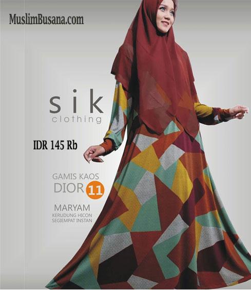 Sik Dior 11 - SIK Clothing Gamis Gamis Dewasa