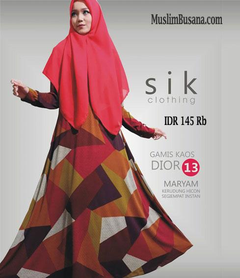 Sik Dior 13 - SIK Clothing Gamis Gamis Dewasa
