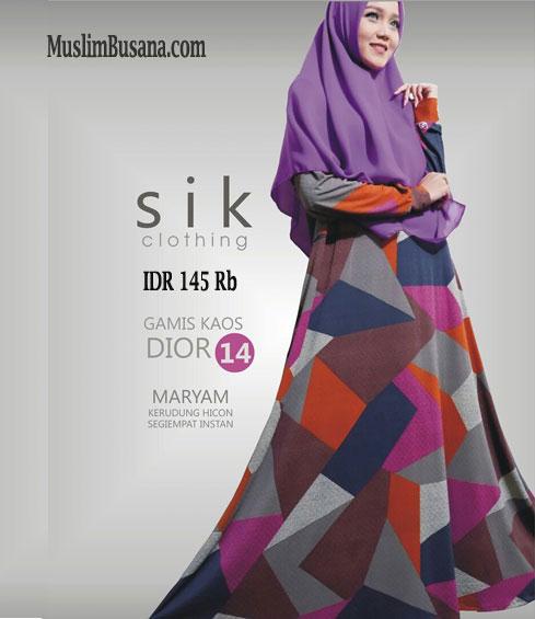 Sik Dior 14 - SIK Clothing Gamis Gamis Dewasa