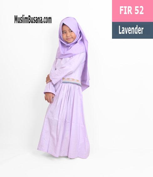 Fatih Fira FIR 52 Lavender - Fatih Fira Gamis Anak