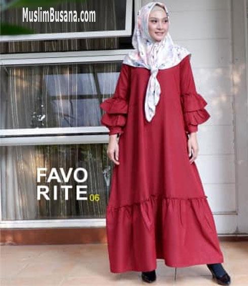 Favorit 06 - SIK Clothing Gamis Gamis Dewasa