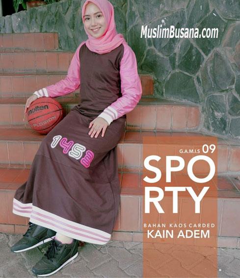 Gamis Sporty 09 - SIK Clothing Gamis Gamis Dewasa