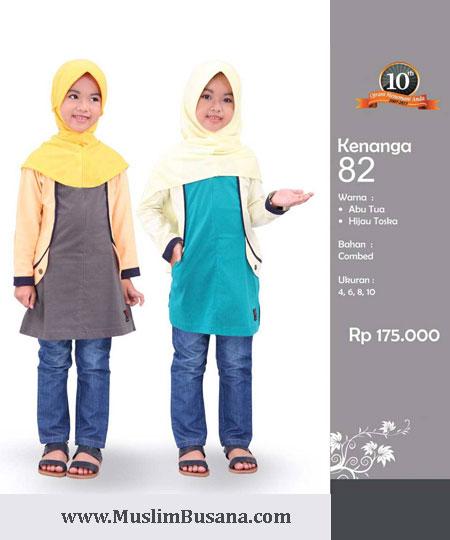 Qirani Kids Kenanga 82 - Qirani Baju Anak Atasan Anak