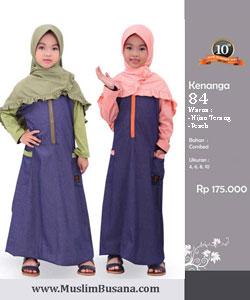 Qirani Kids Kenanga 84 - Qirani Baju Anak Gamis Anak