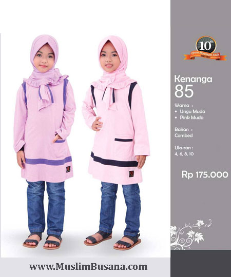 Qirani Kids Kenanga 85 - Qirani Baju Anak Atasan Anak