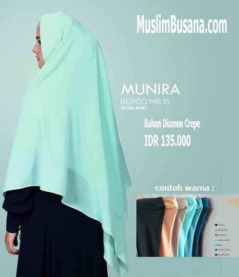 Munira MB 15 Hijau Mint - Munira Bergo