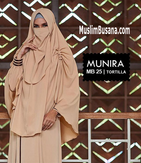 Munira MB 25 Tortilla - Munira Jilbab Dewasa