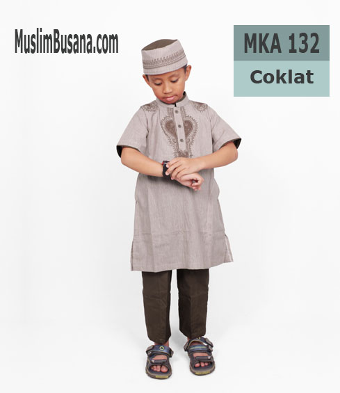 Fatih Firra MKA 132 - Fatih Fira Koko Setelan Anak