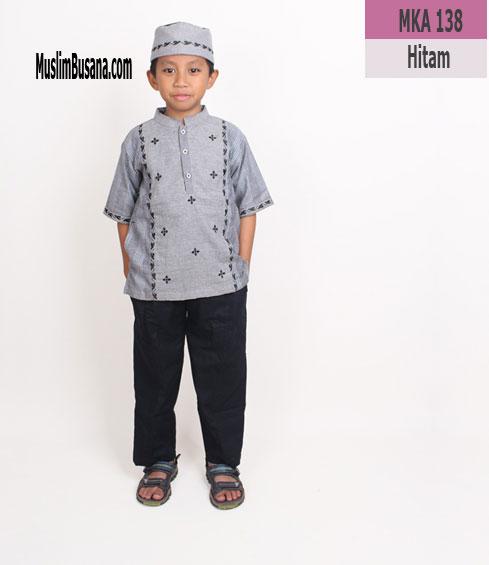 Fatih Firra MKA 138 Hitam - Fatih Fira Koko Koko Anak & Remaja