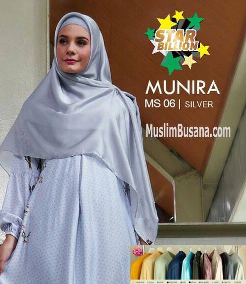 Munira MS 06 - Munira Jilbab Segi Empat