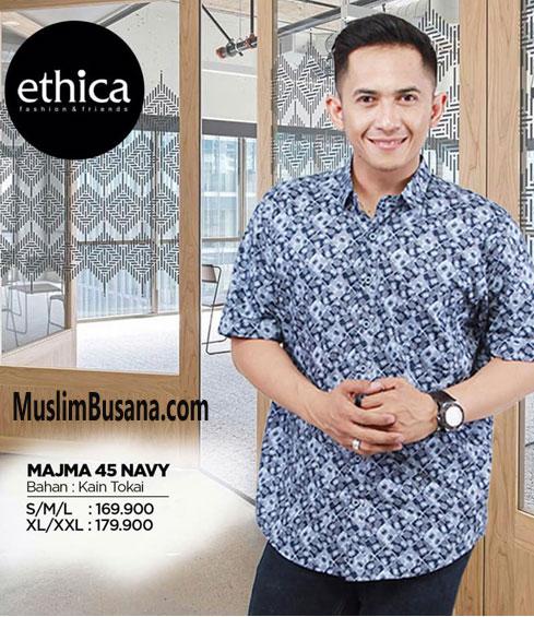 Ethica Majma 45 Navy - Ethica Koko Koko Dewasa