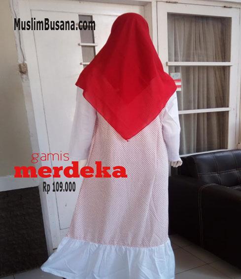 Merdeka - SIK Clothing Gamis Gamis Dewasa