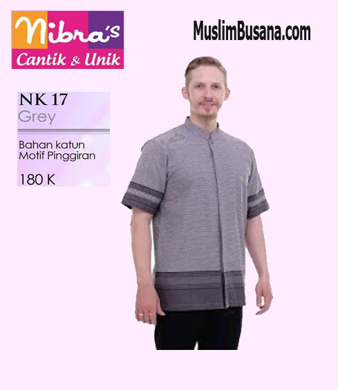 Nibras NK 17 Grey - Nibras Koko Koko Dewasa