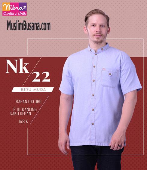 Nibras NK 22 Biru Muda - Nibras Koko Koko Dewasa