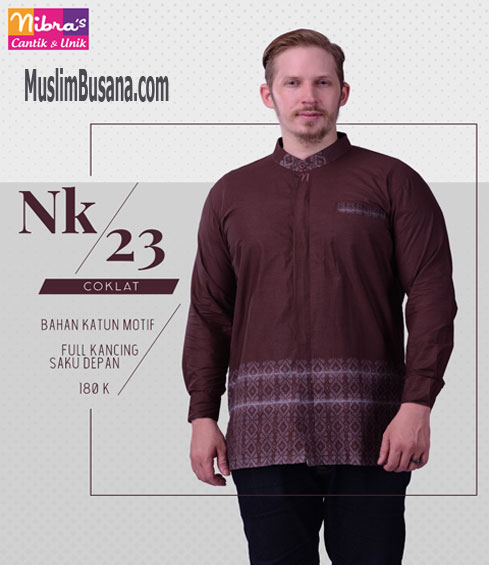 Nibras NK 23 Coklat - Nibras Koko Koko Dewasa