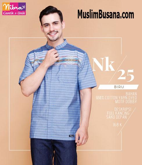 Nibras NK 25 Biru - Nibras Koko Koko Dewasa