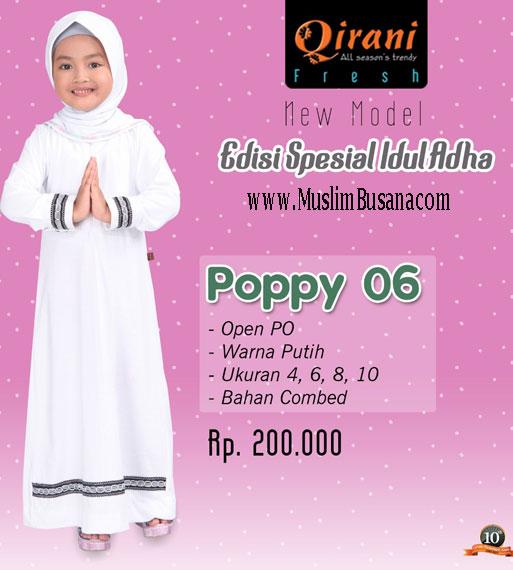 Qirani Kids Poppy 06 - Qirani Baju Anak Gamis Anak