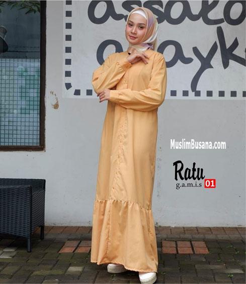 Ratu 01 - SIK Clothing Gamis Gamis Dewasa