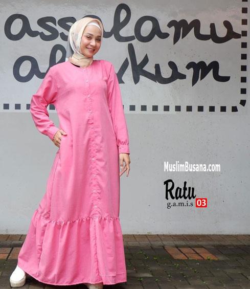 Ratu 03 - SIK Clothing Gamis Gamis Dewasa