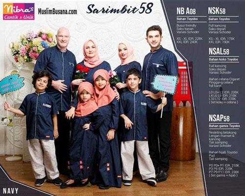 Nibras Sarimbit 58 Navy