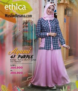 Ethica Ayumi 41 Purple Setelan Remaja