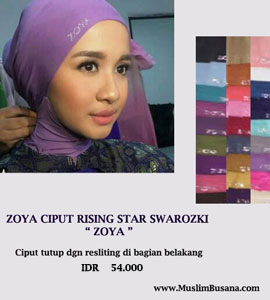 Zoya Ciput Rising Star Ciput