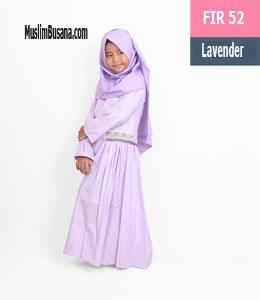 Fatih Fira FIR 52 Lavender Gamis Anak