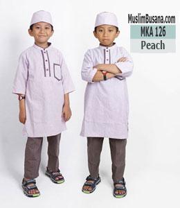 Fatih Firra MKA 126 Peach Koko Anak & Remaja