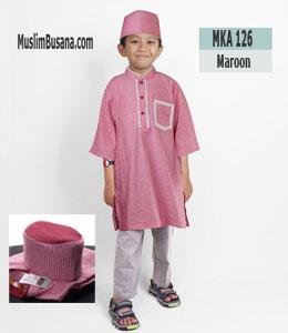 Fatih Firra MKA 126 Merah Koko Anak & Remaja