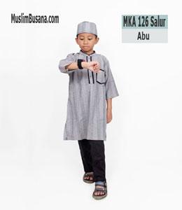 Fatih Firra MKA 126 Salur Abu Setelan Anak