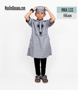 Fatih Firra MKA 132 Hitam Koko Anak & Remaja
