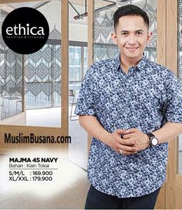 Ethica Majma 45 Navy Koko Dewasa