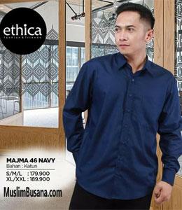 Ethica Majma 46 Navy Koko Dewasa