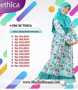 Ethica OSK 92 Tosca Gamis Anak