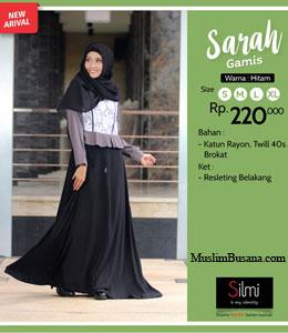 Silmi Sarah Hitam Sarimbit