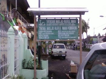 Masjid Nurul Iman Lovina Bali