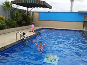 Bayt Kaboki Hotel Syariah di Bali - Kolam Renang Anak