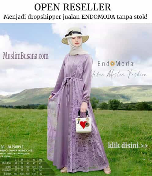 Program dropship Endomoda gamis dan khimar