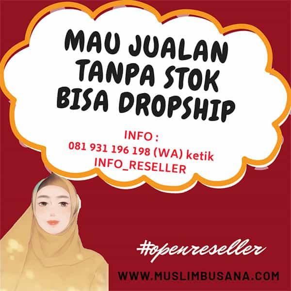 Dropship Baju Muslim Murah Langsung dari Denpasar, Bali