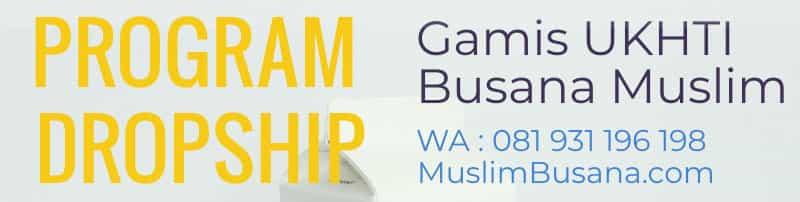 Bisnis dropship online pakaian muslim, cocok di masa pandemi stay at home