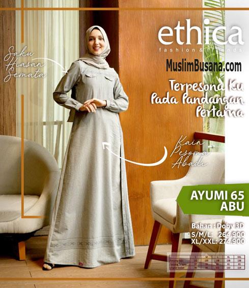 Ethica Ayumi 65 Abu - Ethica Gamis Gamis Dewasa