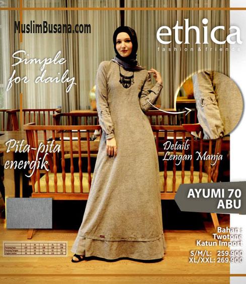 Ethica Ayumi 69 Abu - Ethica Gamis Gamis Dewasa
