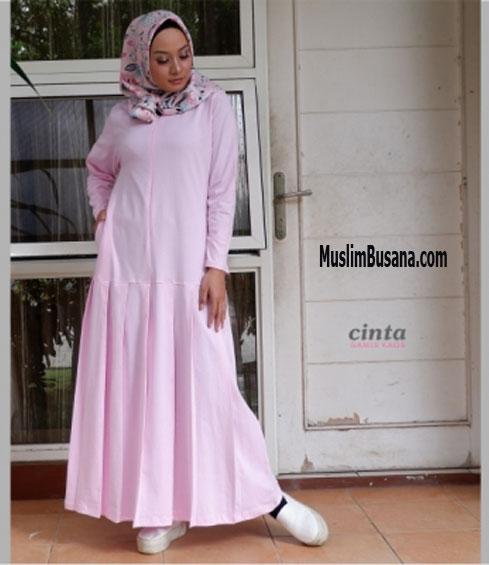 Cinta Pink Gamis Dewasa